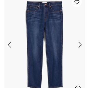 Madewell tall stovepipe jeans size 28 tall!